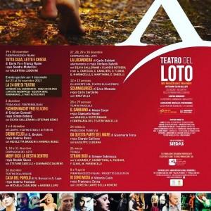Teatro del LOTO programmazione 2017-2018