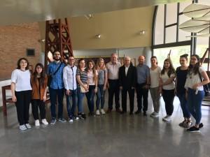 visita rettore agricultural university of tirana