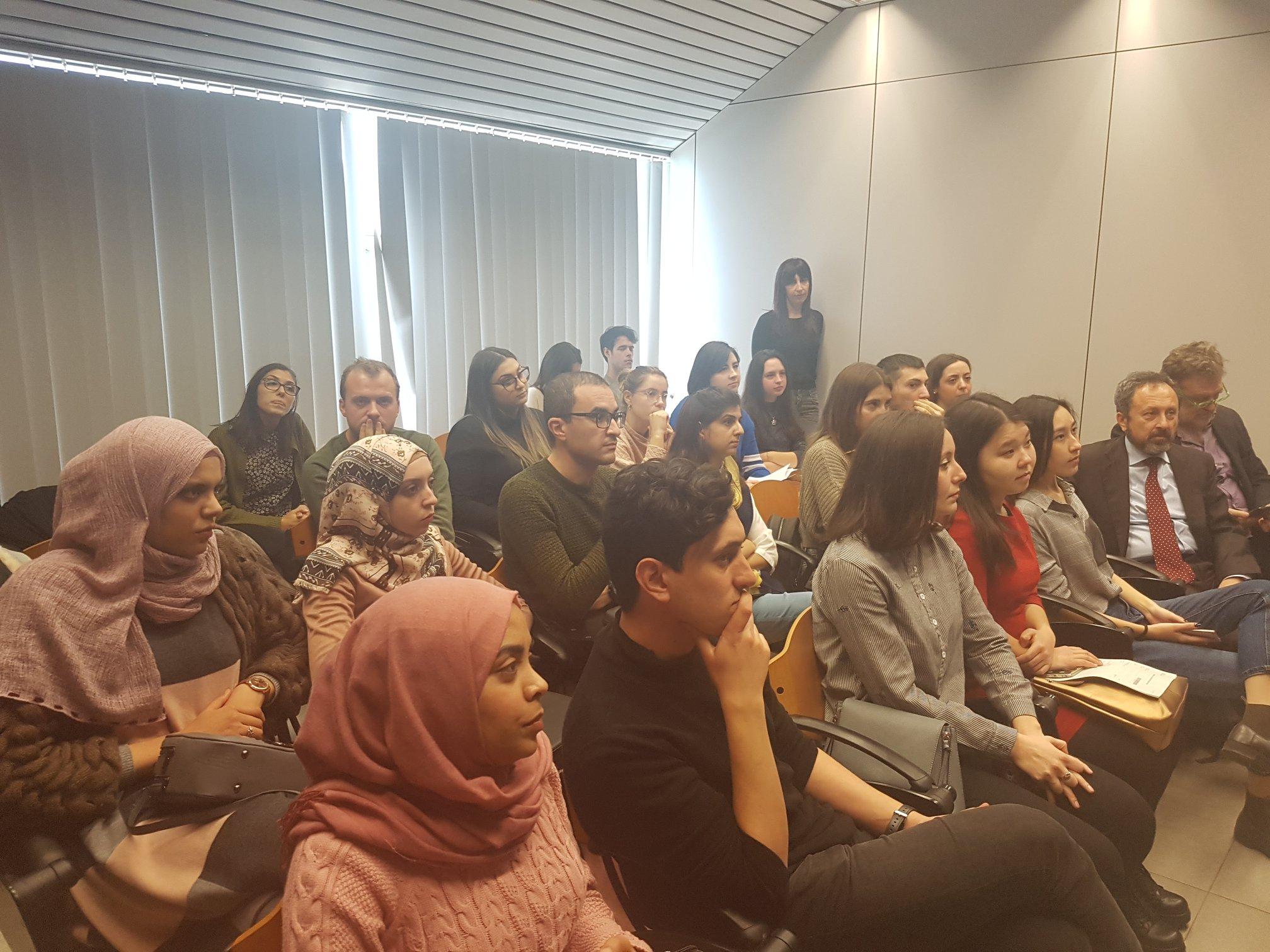 Un momento dell'Erasmus Welcome Day 2018